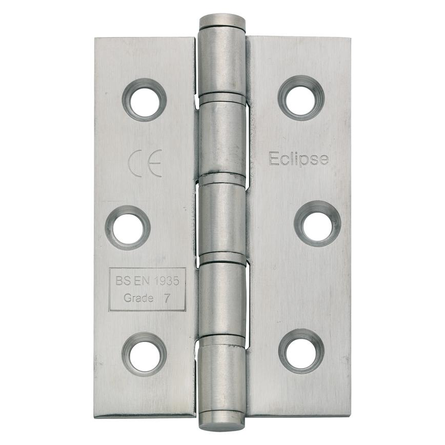 "3""/4"" Satin Stainless Steel Grade 7 Washered Hinge"