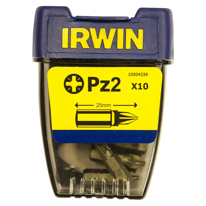 Irwin PZ2 x 25mm Pozi Screwdriver Bit