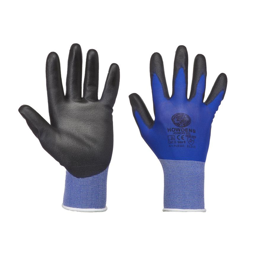 Howdens Ultralight Non Disposable Blue Large General Handling Glove