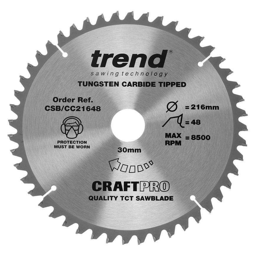 Trend Mitre Saw Blade