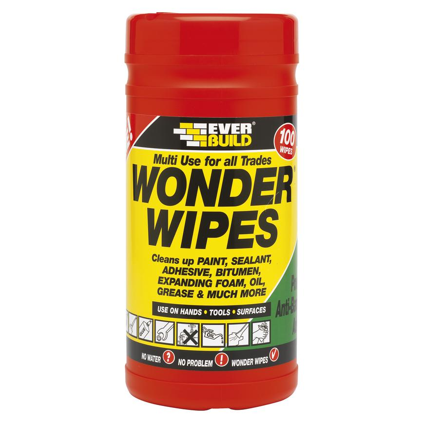 Adhesive Removal Wipes (Pack of 100)