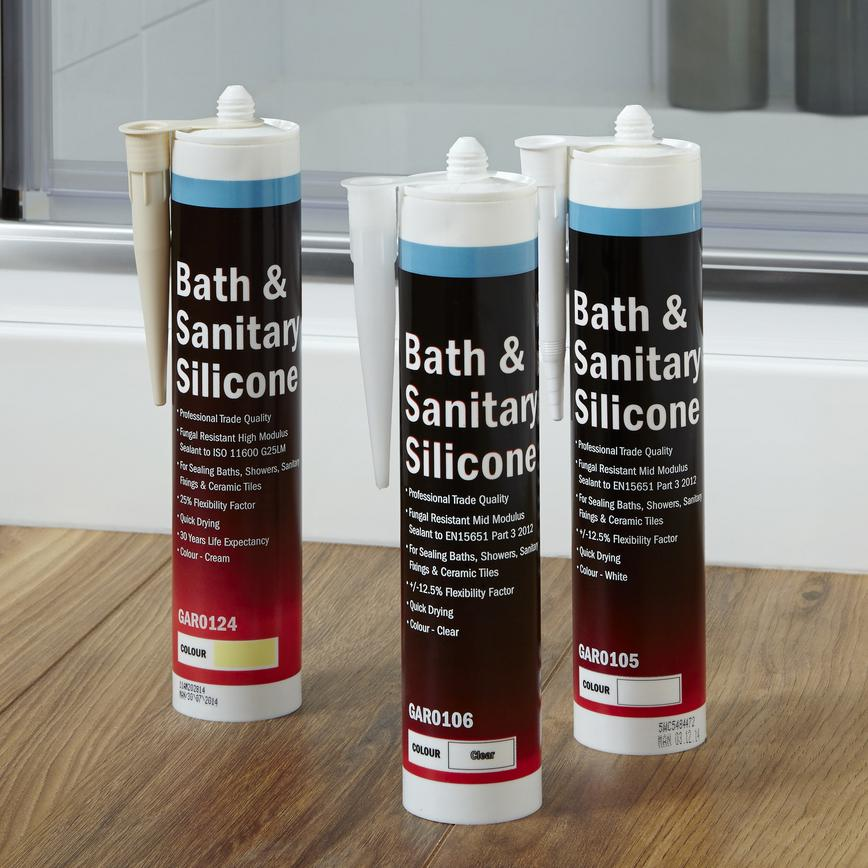 Howdens Joinery Bath & Sanitary Silicones