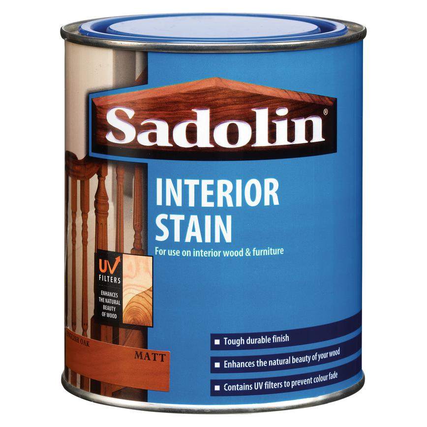 Sadolin 750ml English Oak Satin Wood Stain