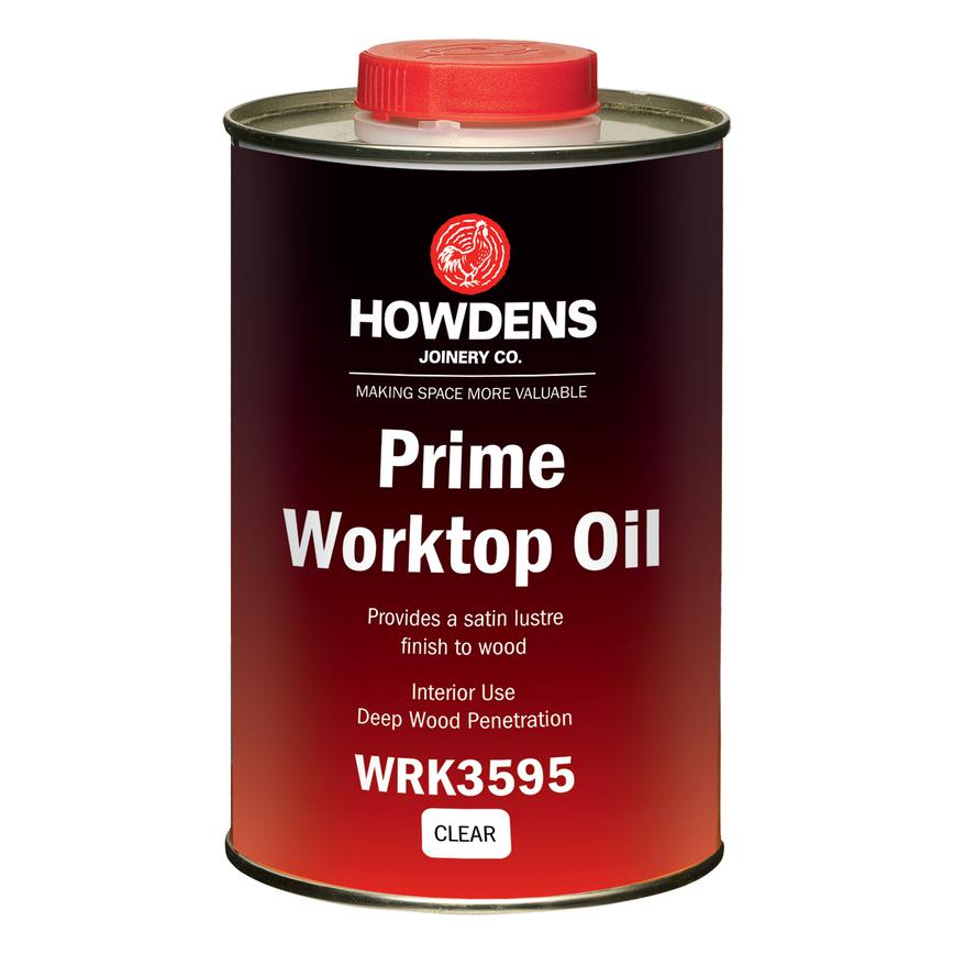 1 Ltr Clear Satin Worktop Oil