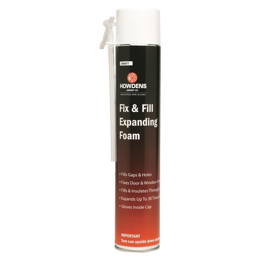 HJ Fix & Fill Expanding Foam 750ml