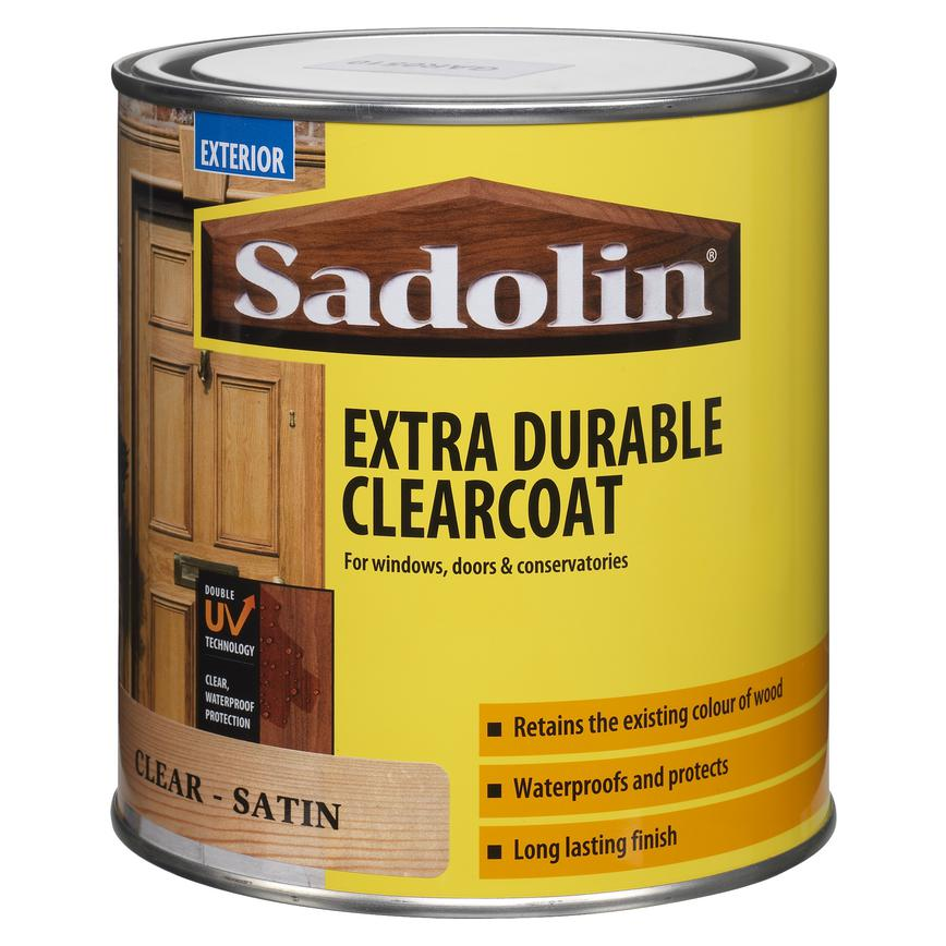 Sadolin 1 Ltr Clear Exterior Varnish