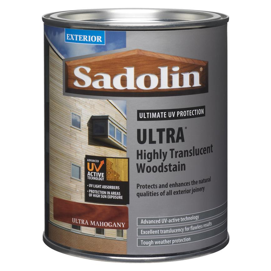 Sadolin 1 Ltr Satin Wood Stain