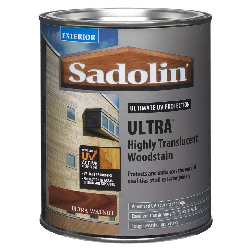 Sadolin 1 Ltr Walnut Satin Wood Stain