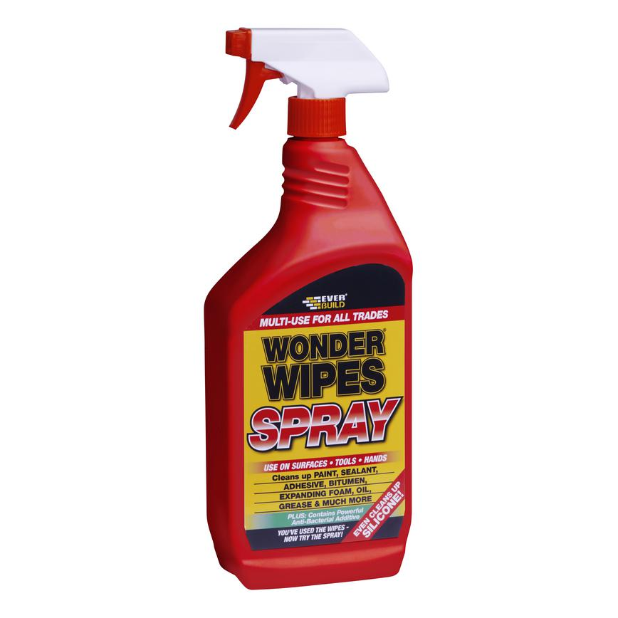 Everbuild Wonder Wipes Adhesive Removal Spray 1 Ltr