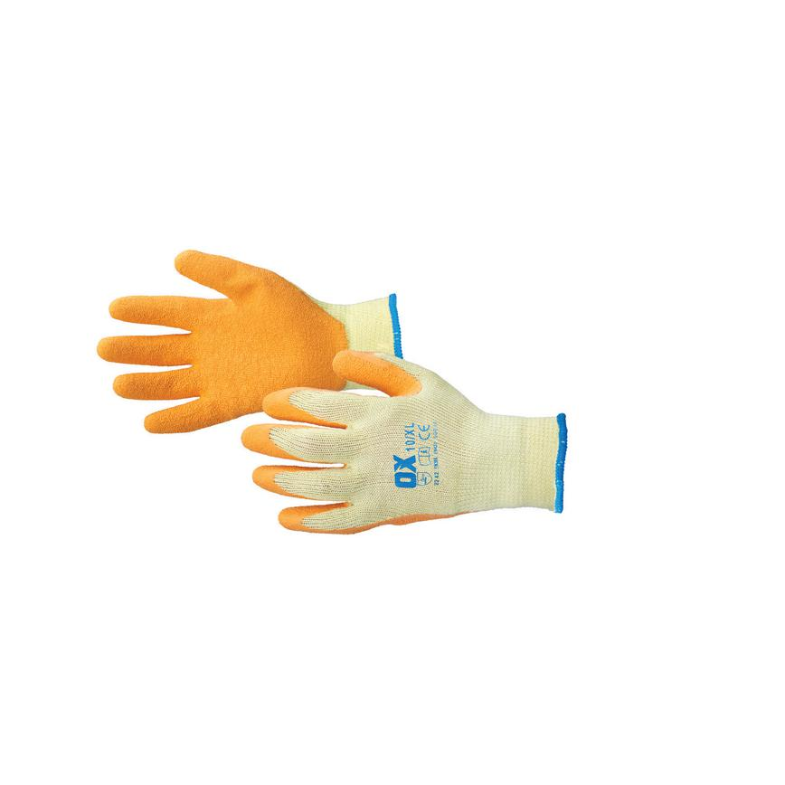 OX Non Disposable Orange Large Glove