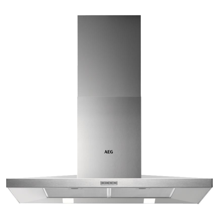AEG DKB4950M 90cm Stainless Steel Chimney Cooker Hood