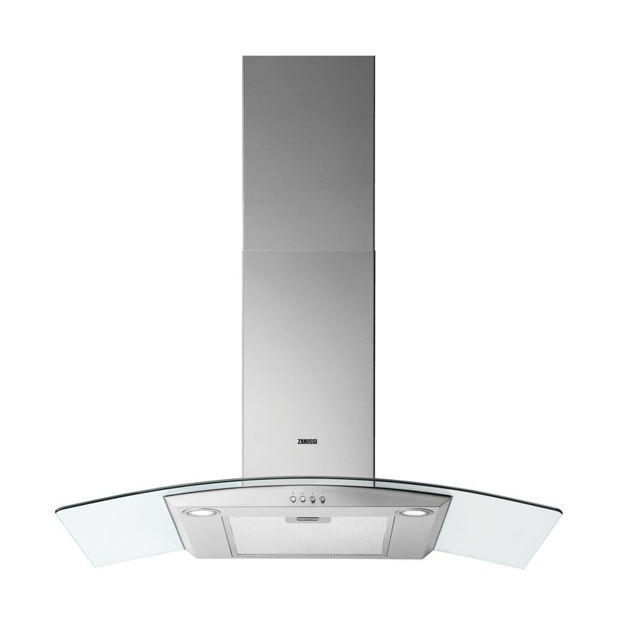 HZA2601 Zanussi 90cm Curved Glass Extractor