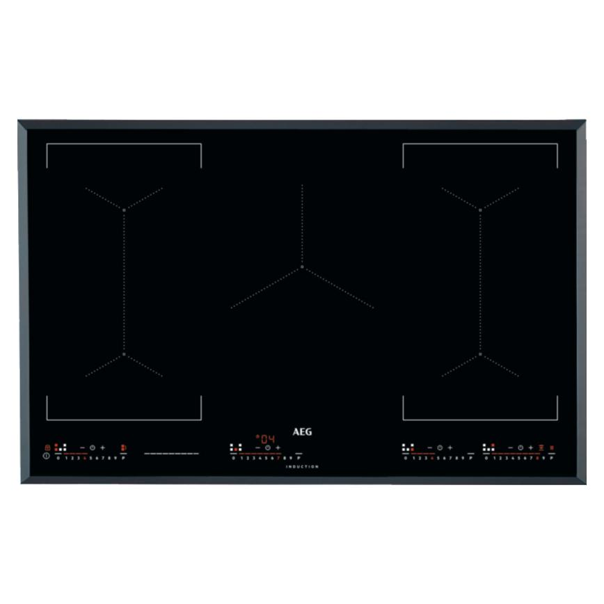 AEG IKE85651FB 80cm Black Electric Induction Hob