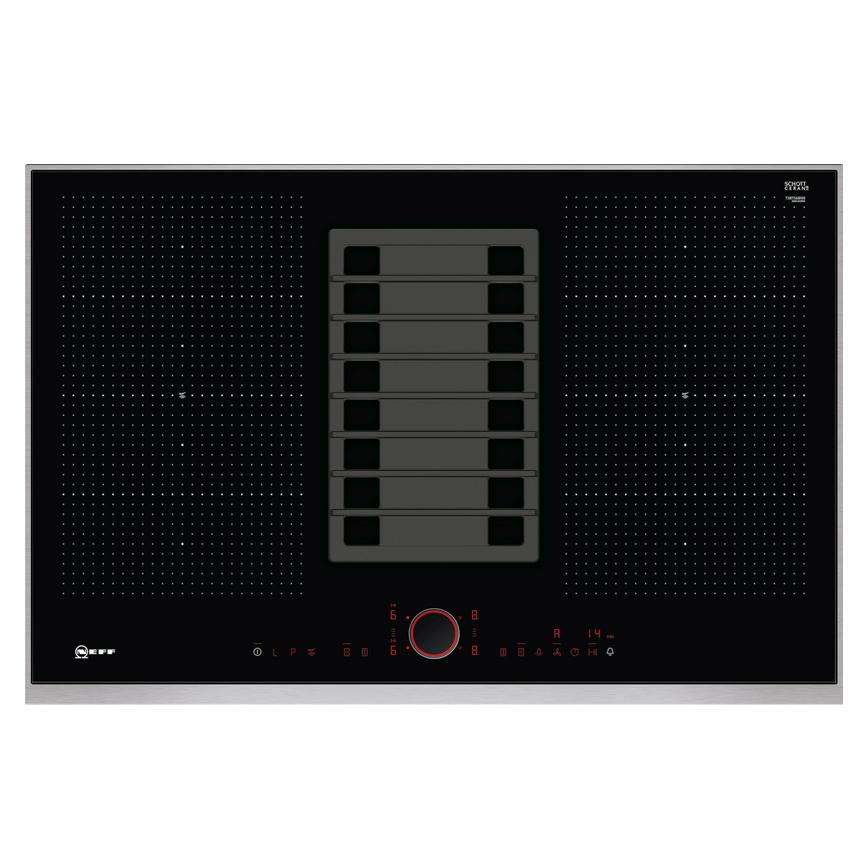HNF9500 Neff Combi Induction Hob and Integrated Downdraft Extractor