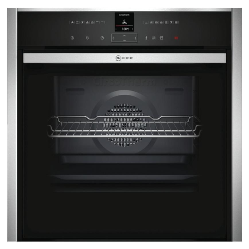 Neff B57VR22N0B Built In Electric 60cm Stainless Steel Single Oven