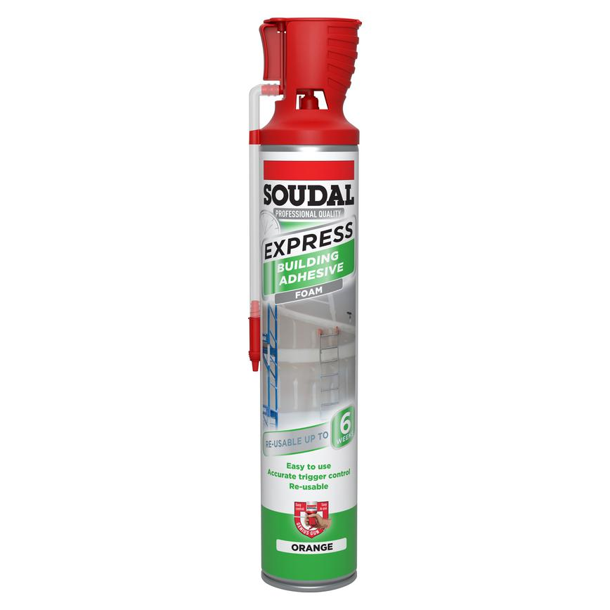 Soudal Gun Building Adhesive Foam - 750ml