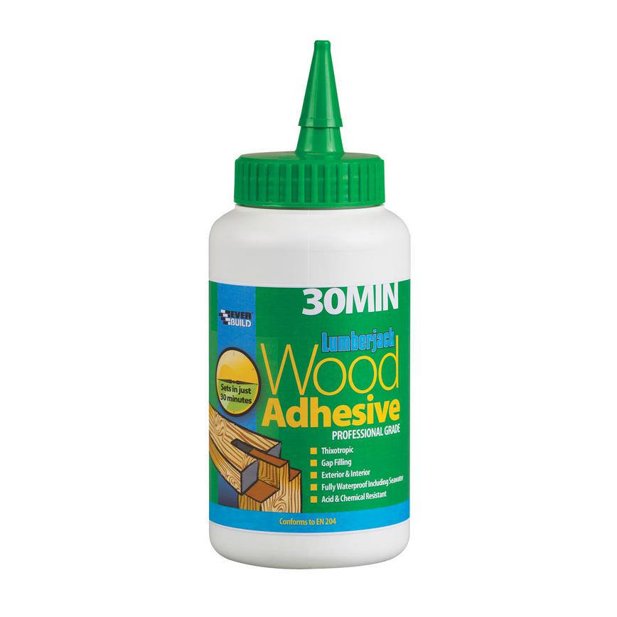 GAR0057 Everbuild Expanding Wood Glue 750g