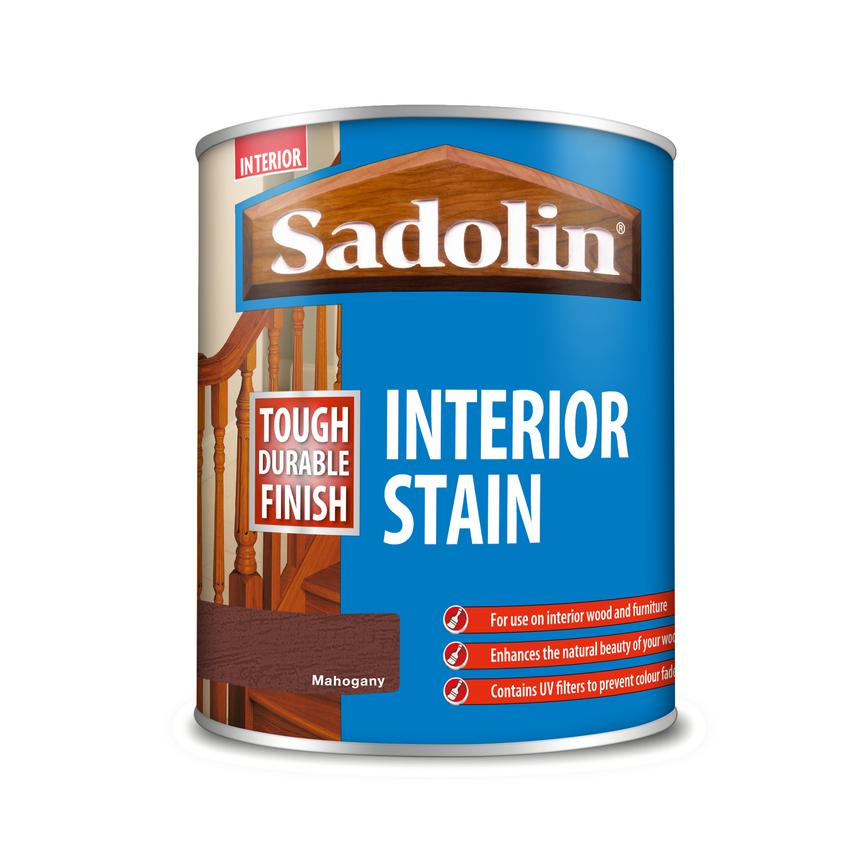 GAR0531 Sadolin Interior Stain 750ml Mahogany [5037667]