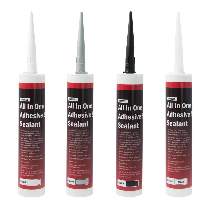 Howdens All in One Hybrid Sealants Range of Colours Available
