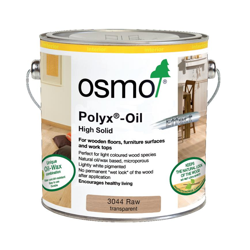 Osmo 3044D 2.5 Ltr White Matt Wax Oil
