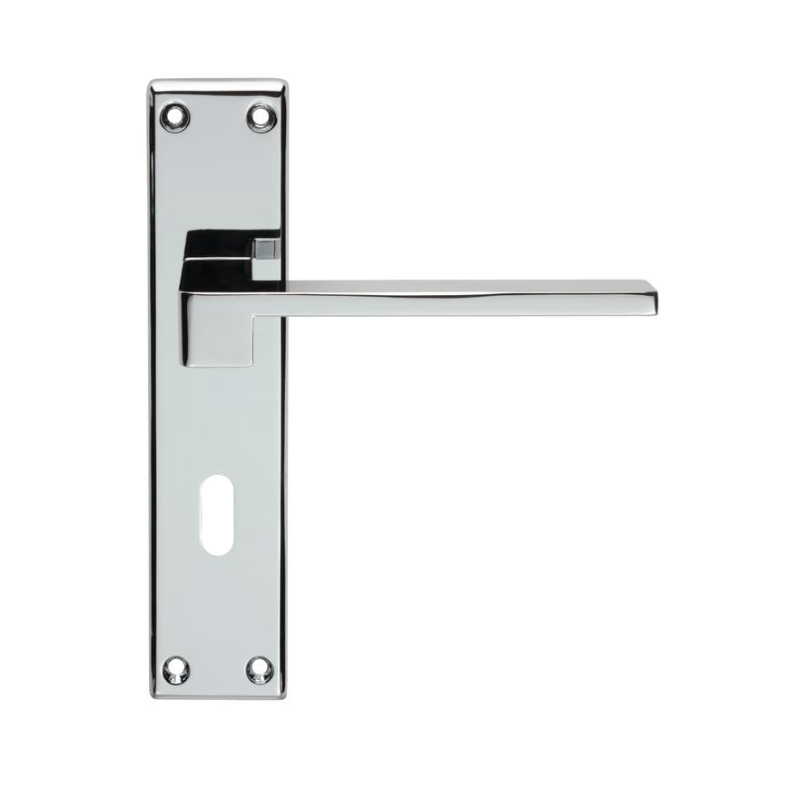DFU5301 SEROZZETTA EQUI LEVER LOCK FURNITURE CP