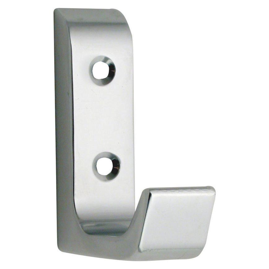 Eclipse Heavy Duty Coat Hook 63mm - Satin Anodised Aluminium