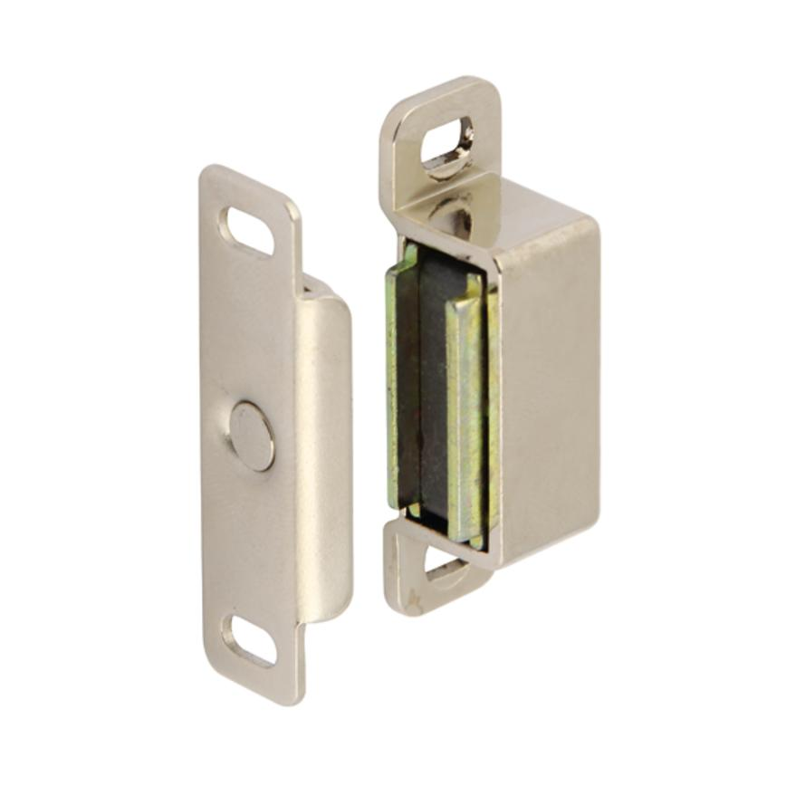 Hafele Nickel 46mm Magnetic Cupboard Catch