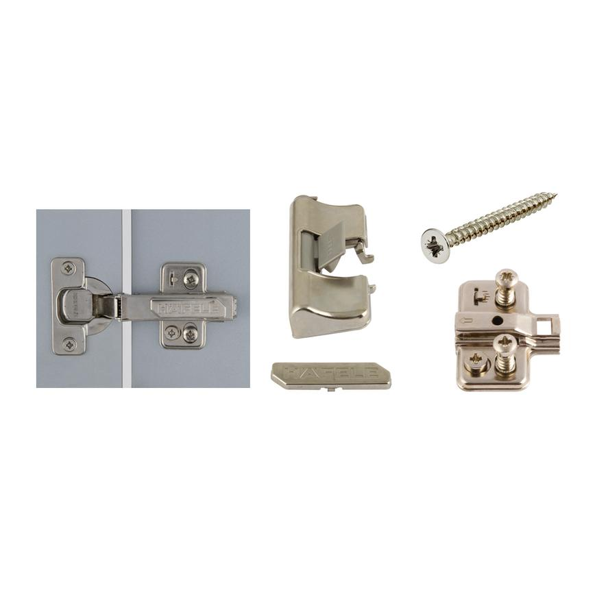 GIR5100 - 2 x 110D Inset Soft Close Hinge Pakc