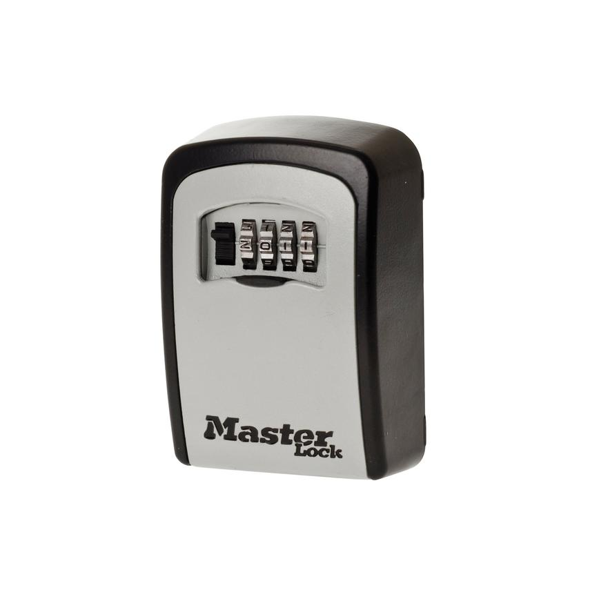 Masterlock Wall Mounted Black and Grey Key Safe