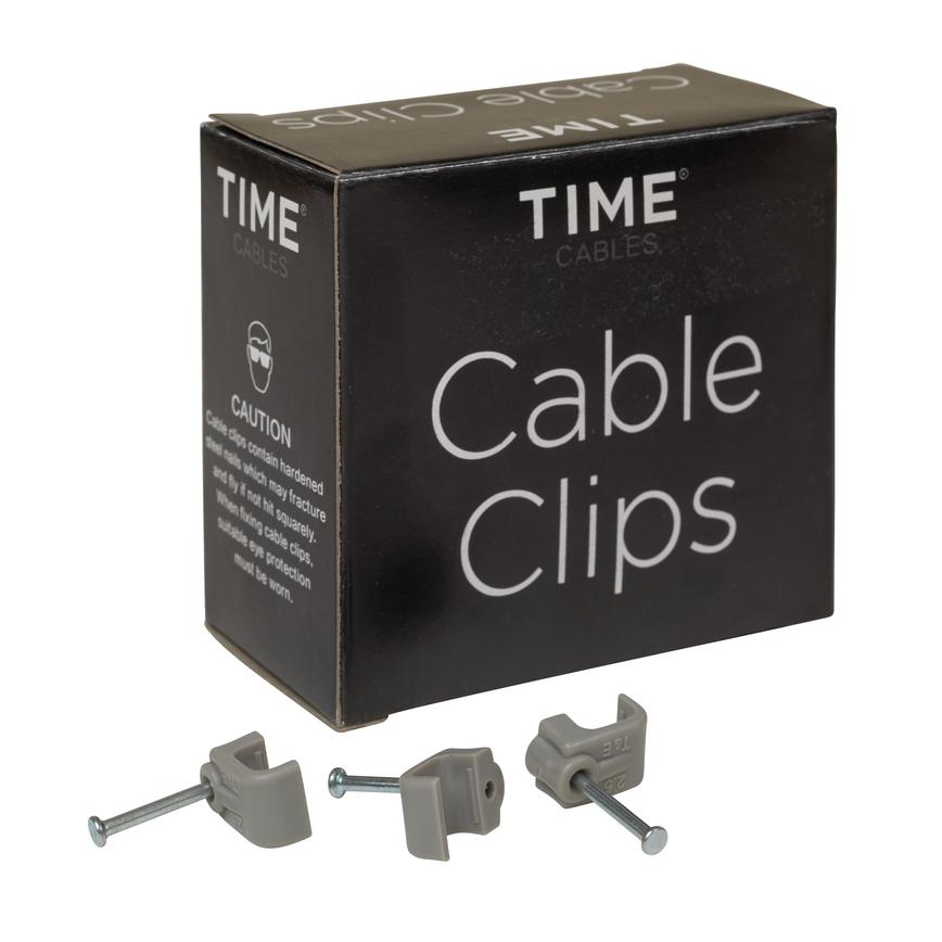 2.5mm Twin and Earth Clips Pack of 100