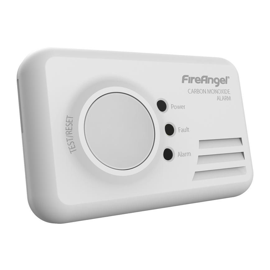 FireAngel CO-9XT-FF Battery Powered Carbon Monoxide Alarm