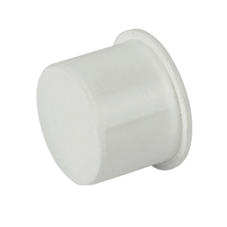 FloPlast Polypropylene Push-Fit Stop End