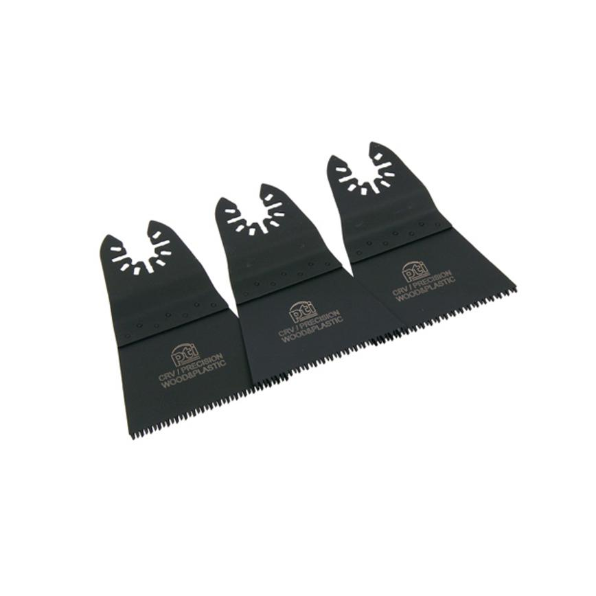 PTI Multi Tool Wood and Plastic Plunge Cutting Blade Pack of 3
