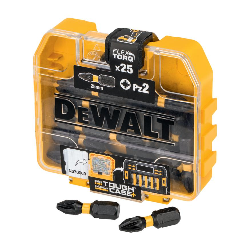 Dewalt PZ2 25mm Impact Torsion Bits