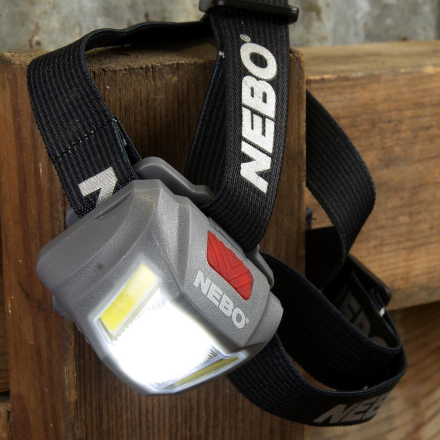 Nebo Duo Headtorch close-up
