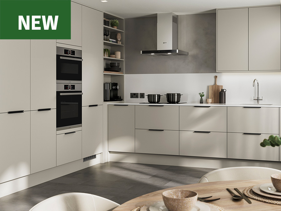 NEW Hockley Super Matt Sandstone Kitchen