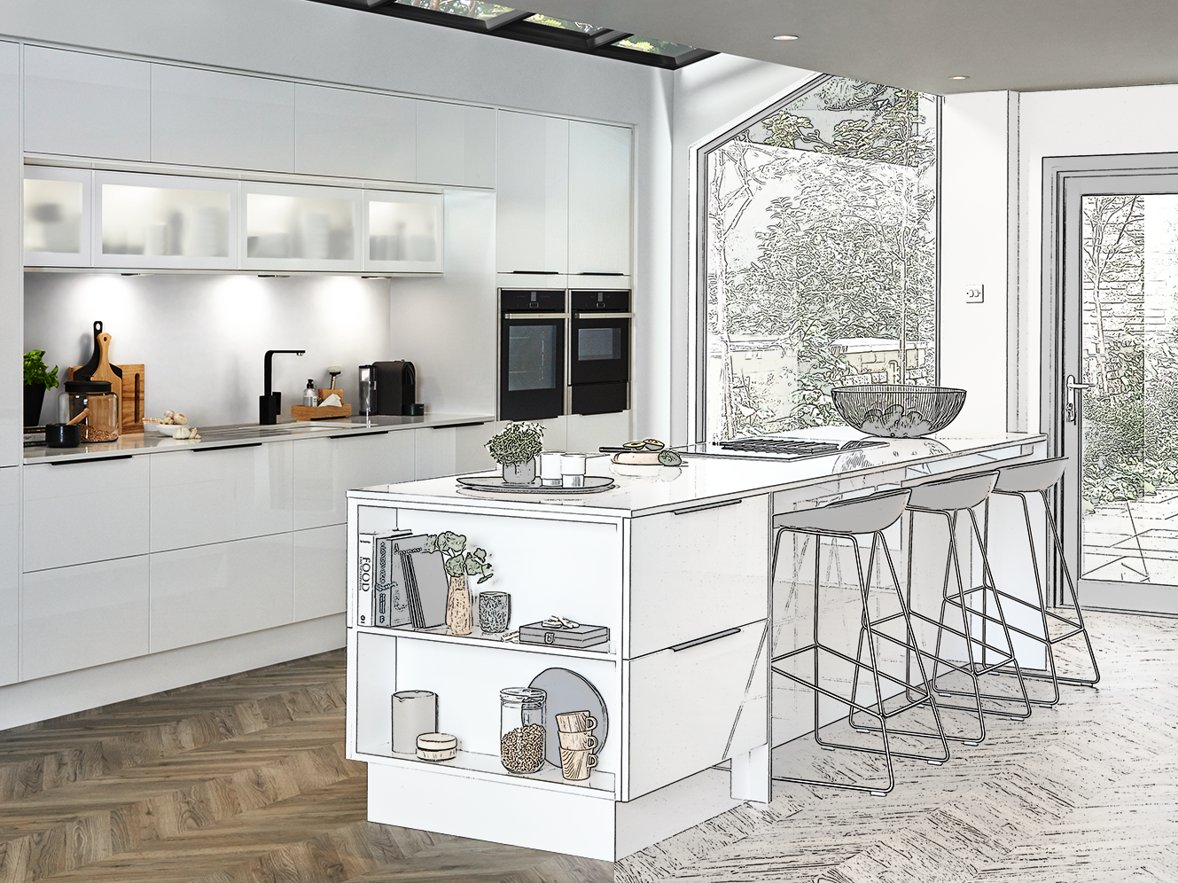 Virtual Kitchen Design Service   Virtual Kitchen Designer   Howdens