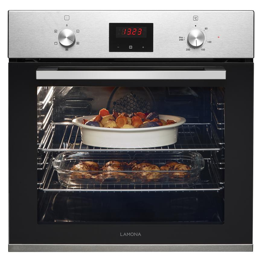 Lamona Single Fan Oven Stainless Steel Howdens Joinery