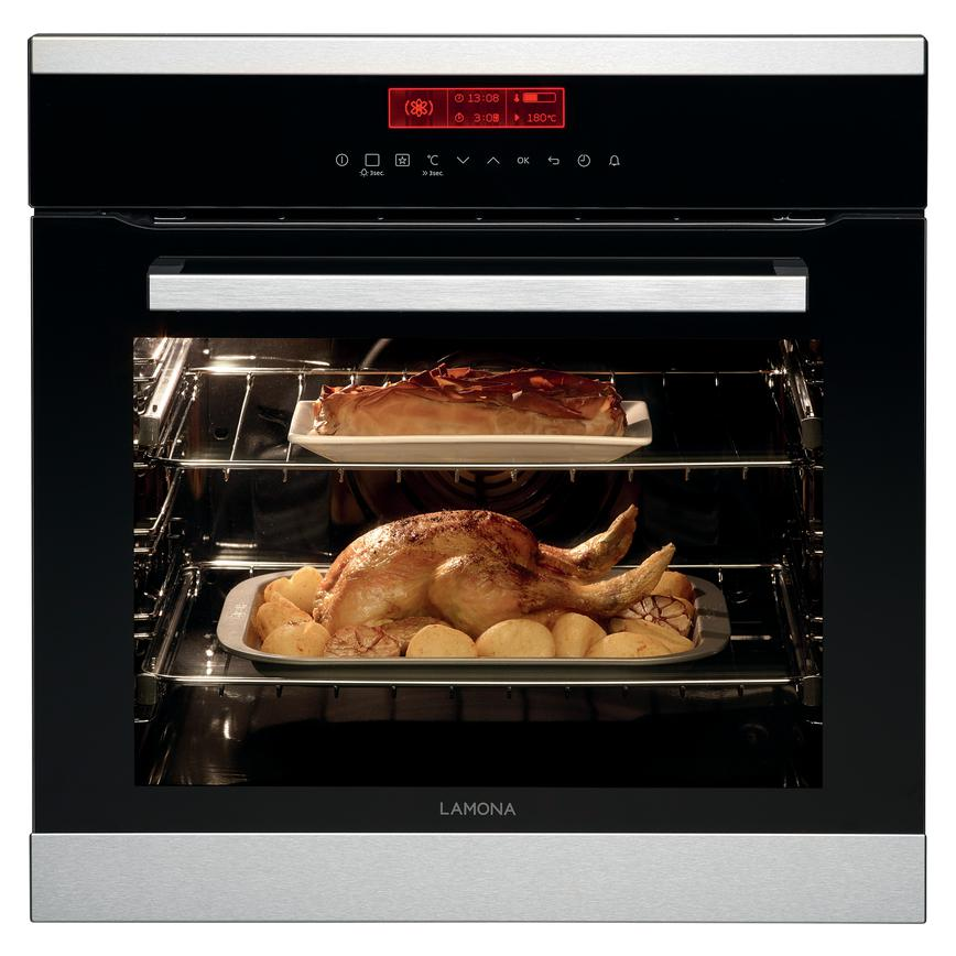 Lamona Touch Control Single Pyrolytic Multi Function Oven