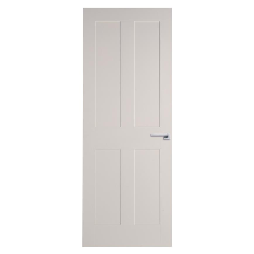Howdens Burford Smooth 4 Panel Moulded Door | Howdens on