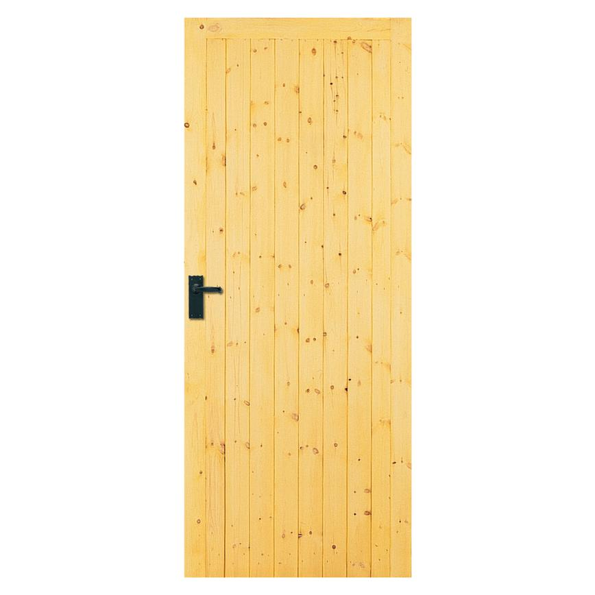 Softwood Framed Ledged And Braced External Door Howdens Joinery