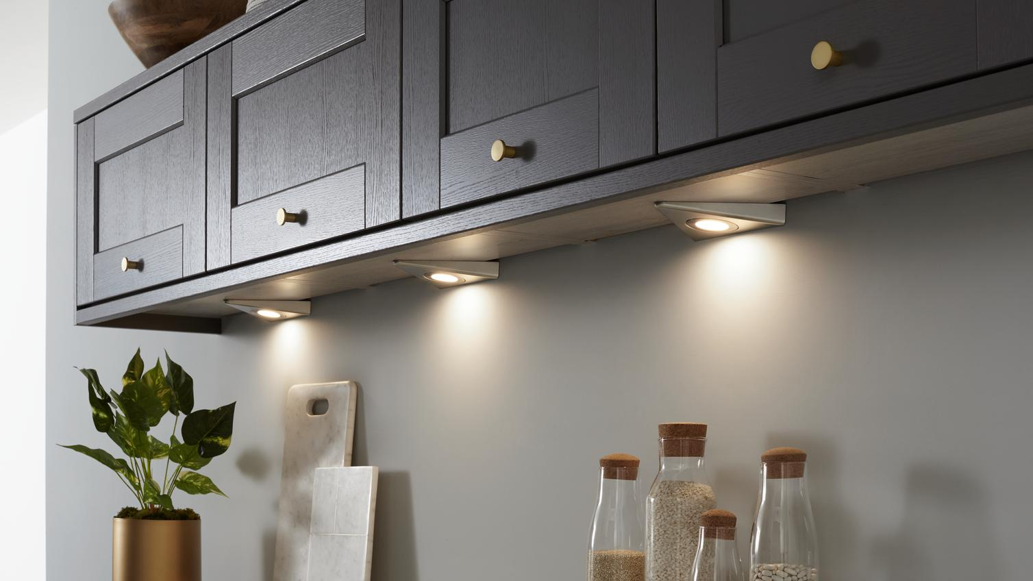 Kitchen Lighting Led Cabinet Amp Downlighters Howdens